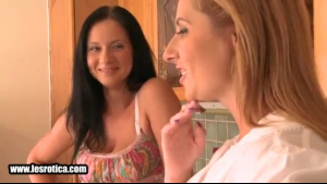 Two mature lesbians are making love with each other while their partner is out of town