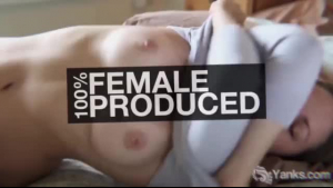 Skinny big breasted redhead plumper masturbating