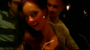 Lusty lady is a mistress in the night club, and is often going there for anal sex