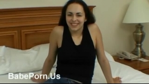 Slim brunette took off her clothes and made her friend watch her in action, until they cum