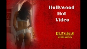 Hot Bollywood footpolishes red haired woman