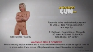 Gorgeous blonde shemale babe fucked and facialized