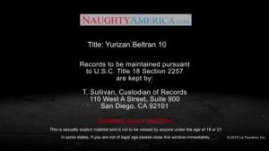 Busty, Asian brunette, Yurizan Beltran sucks one of the biggest dicks she has ever seen