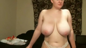Seductive blonde milf with big tits, Linzee likes to passionately make love with a red haired lady